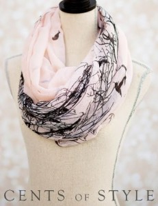 cents of style bird scarf