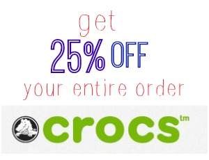 crocs coupon code
