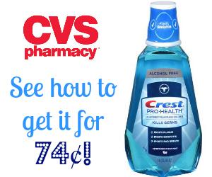 cvs crest rinse deal