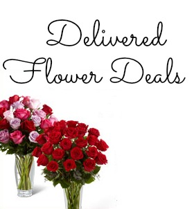 delivered flower deals