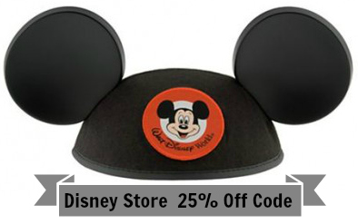 disney store couponcode