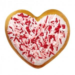 krispy kreme valentine doughnut