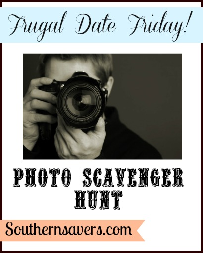 Frugal Date Ideas | Photo Scavenger Hunt Ideas