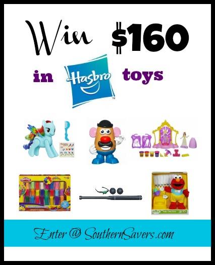 Enter to win $160 in Hasbro toys!