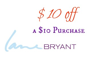 Lane Bryant Coupon for $10 off