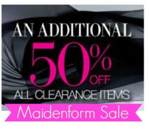 maidenform clearance sale