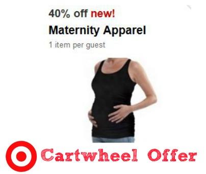 maternity offer