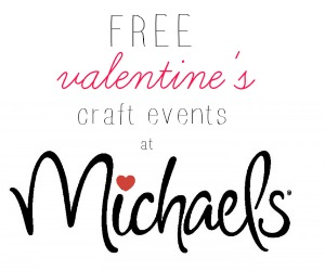 craft events at michaels