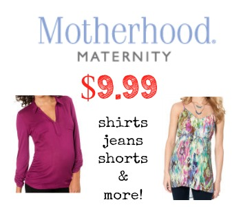 Motherhood maternity coupons online