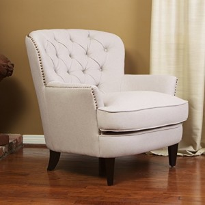 Pottery Barn Look Alike Cardiff Tufted Upholstered Chair