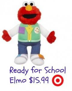 Target Sesame Street Ready For School Elmo 15 99 Southern Savers