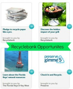 recyclebank opportunities