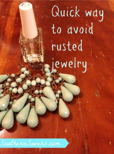 rusted jewelry quick tip