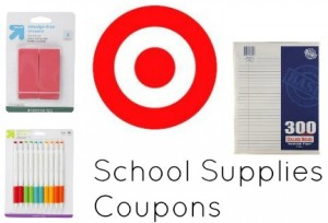 school supplies coupons