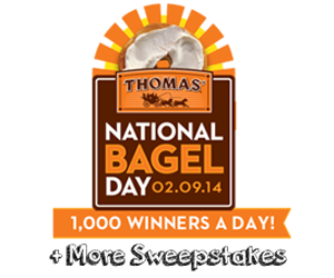 sweepstakes thomas bagels