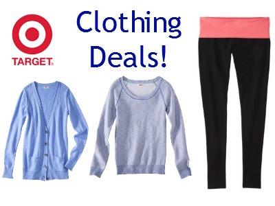 target clothing deals