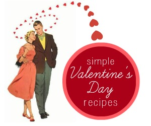 simple valentine's day dinner recipes