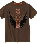 winged wire tee