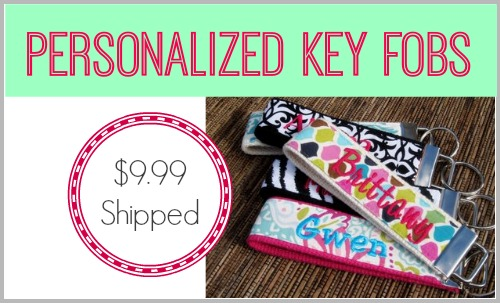 Belle Chic key fobs only $9.99 shipped