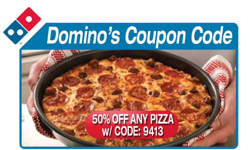 Domino's coupon code1