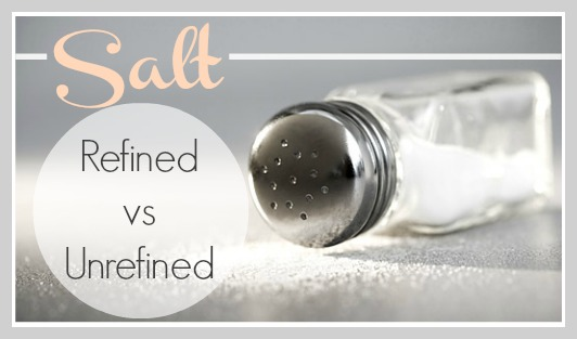 On our Organic Living Journey, let's take a look at Salt.  What's the difference between refined and unrefined salt