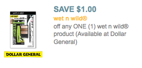 wet 'n wild coupon