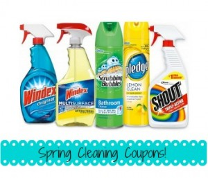 Spring Cleaning Coupons