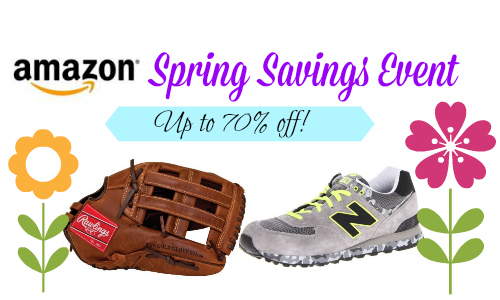 amazon spring savings event