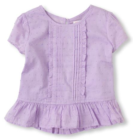 baby peplum top