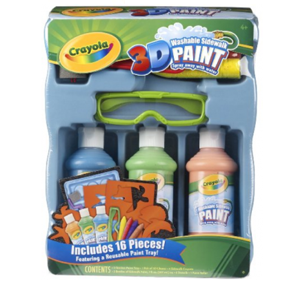 crayola 3d deluxe sidewalk paint tray 1