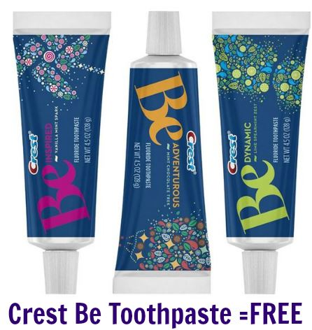 crest be toothpaste