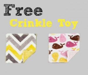 Free Crinkle Toy for Babies