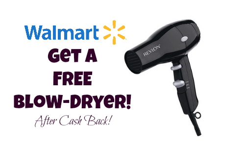 free blow-dryer deal