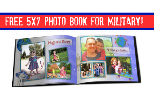 free photo book for military
