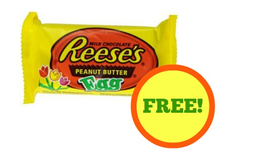FREE Reese's Milk Chocolate.
