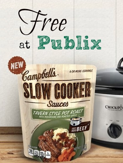 free slowcooker sauces at publix