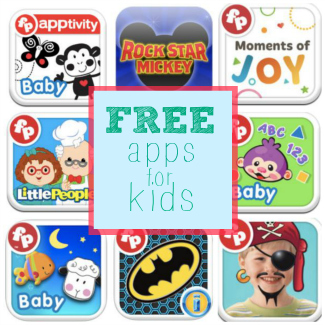 Here's a list of some FREE Fisher-Price apps from Smart Apps for Kids!
