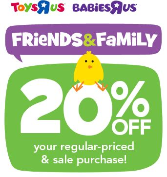 toys r us coupon 20 off regular or sale price purchase southern