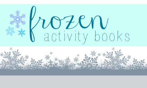 frozen activity books