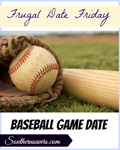 Frugal Date Ideas | Head to a local baseball game for a frugal spring date