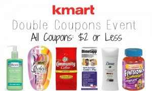 kmart double coupons event