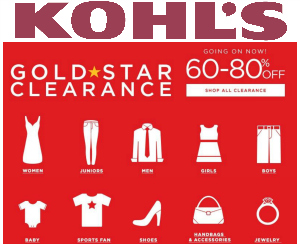 kohl's clearance sale
