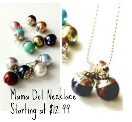 mama dot necklace
