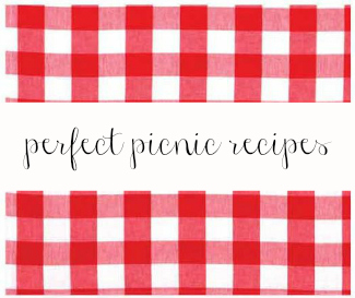 Make your next picnic perfect with these fun picnic recipes!