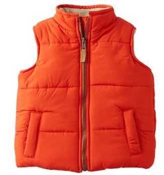carter's puffer vest