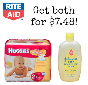 rite aid baby deal