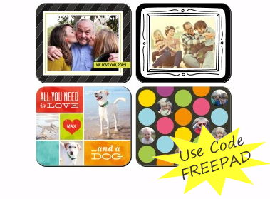 shutterfly coupon code free mouse pad