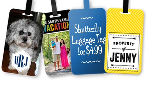 shutterfly coupon code luggage tag1