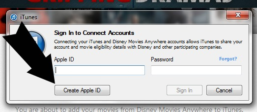 sign-in apple account