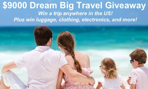 sweepstakes savingstar dream big travel sweeps